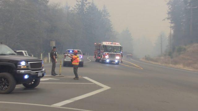 Echo Mountain Fire